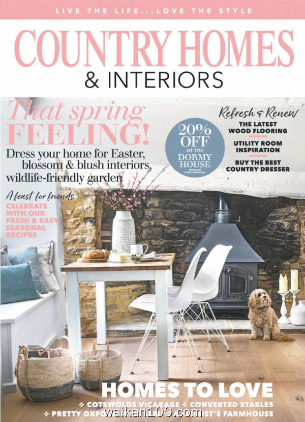 Country Homes&Interiors 4月刊 2020年 [86MB]