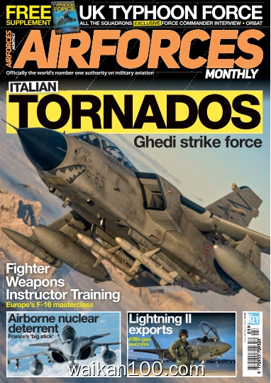 AirForces Monthly 3月刊 2020年 [34MB]