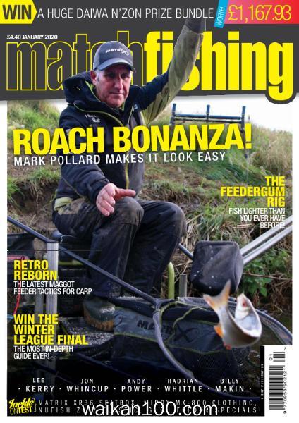 Match Fishing 1月刊 2020年 [32MB]