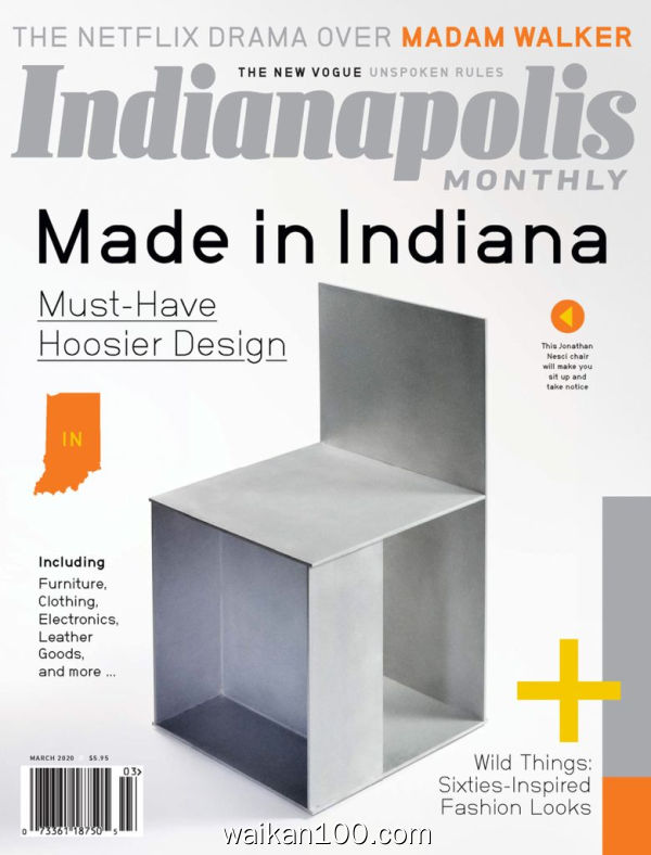 Indianapolis Monthly 3月刊 2020年 [156MB]
