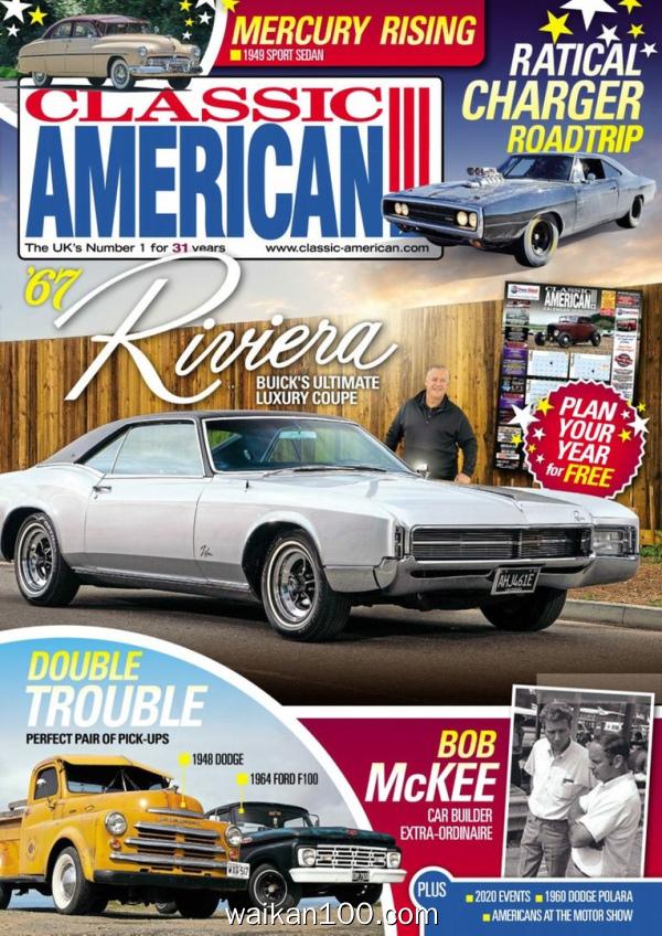Classic American 4月刊 2020年 [109MB]