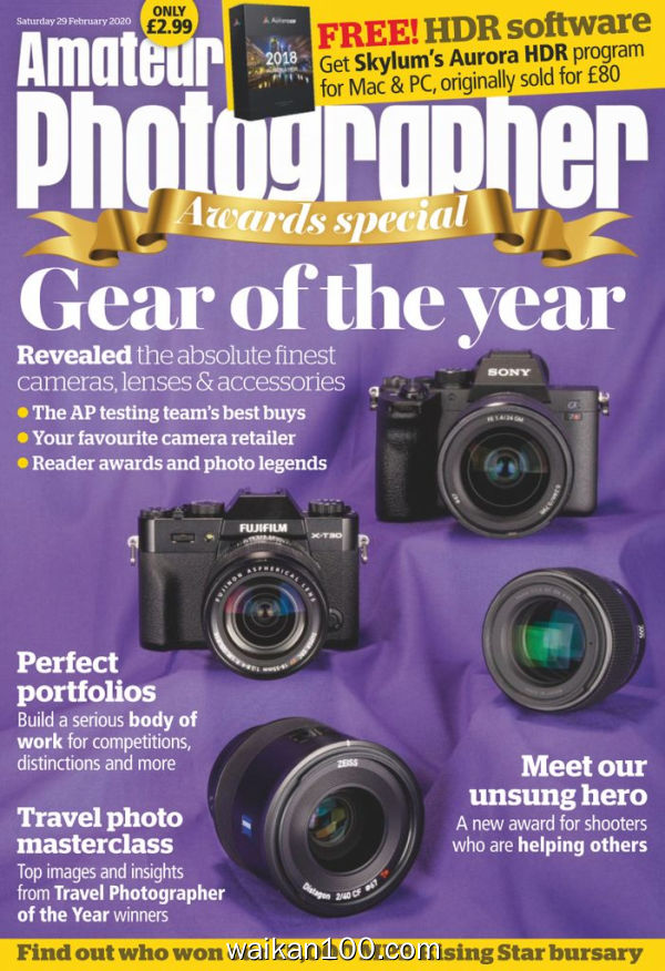 Amateur Photographer 29 2月刊 2020年 [34MB]