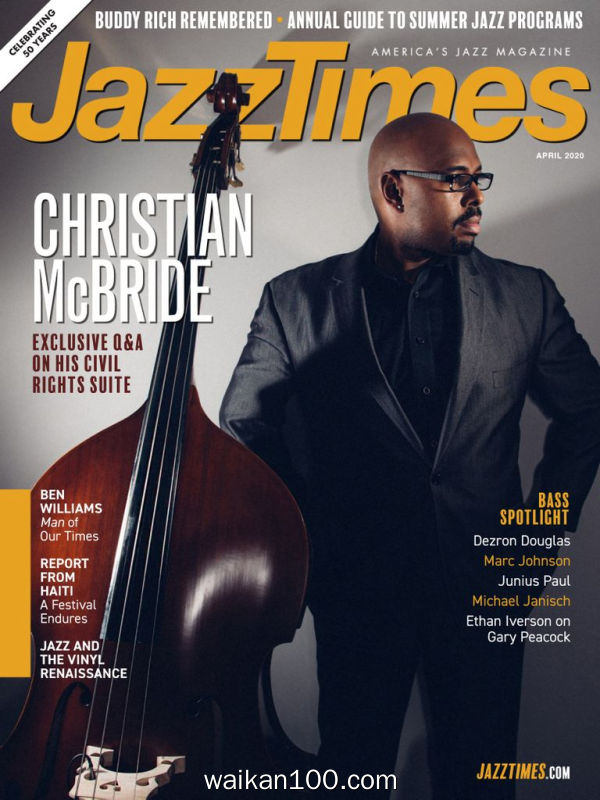 JazzTimes 4月刊 2020年高清PDF电子杂志外刊期刊下载英文原版