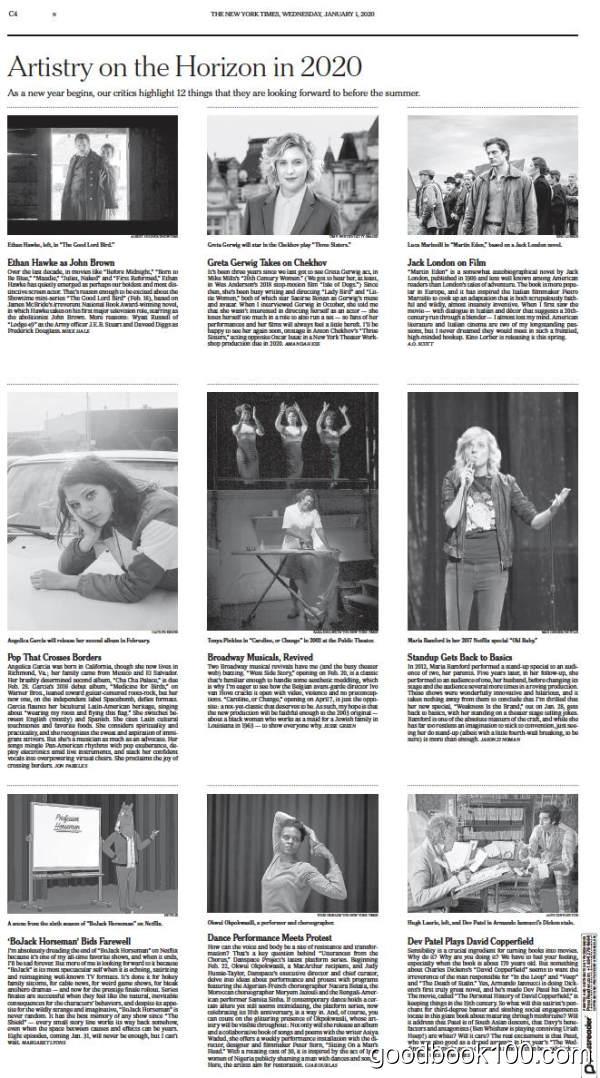 纽约时报_The New York Times_2020年合集高清PDF杂志电子版百度盘下载 共348本 10.68G