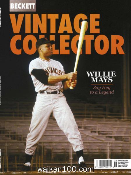 Vintage Collector 4月5月合刊 2020年高清PDF电子杂志外刊期刊下载英文原版