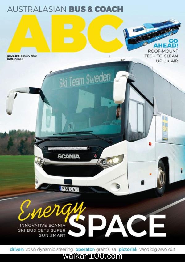 Australasian Bus&Coach 2月刊 2020年高清PDF电子杂志外刊期刊下载英文原版