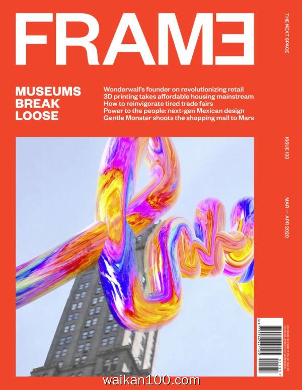 Frame 3月4月合刊 2020年高清PDF电子杂志外刊期刊下载英文原版