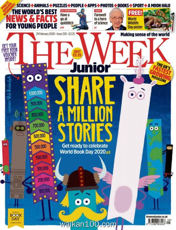 [英国版]The Week Junior 29 2月刊 2020年高清PDF电子杂志外刊期刊下载英文原版