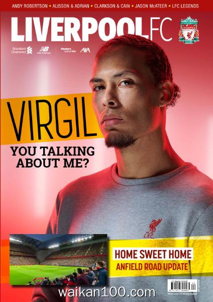 Liverpool FC Magazine 总期数No.92 4月刊 2020年 [32MB]