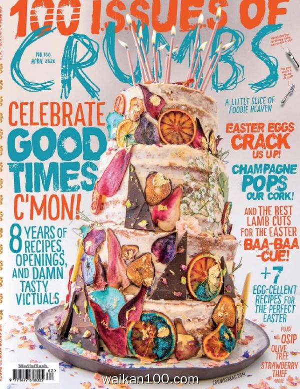Crumbs Bath&Bristol 4月刊 2020年高清PDF电子杂志外刊期刊下载英文原版