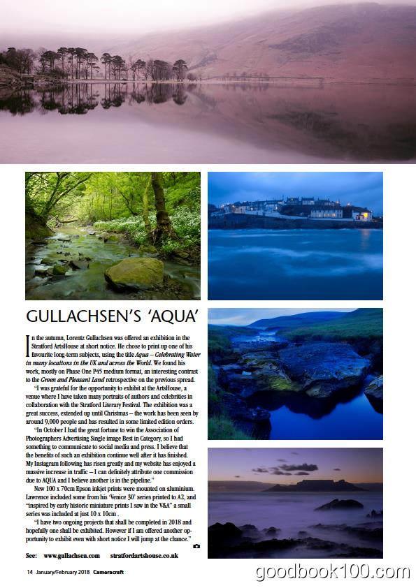 英国摄影杂志_CameraCraf_2018年合集高清PDF杂志电子版百度盘下载 共6本 218MB