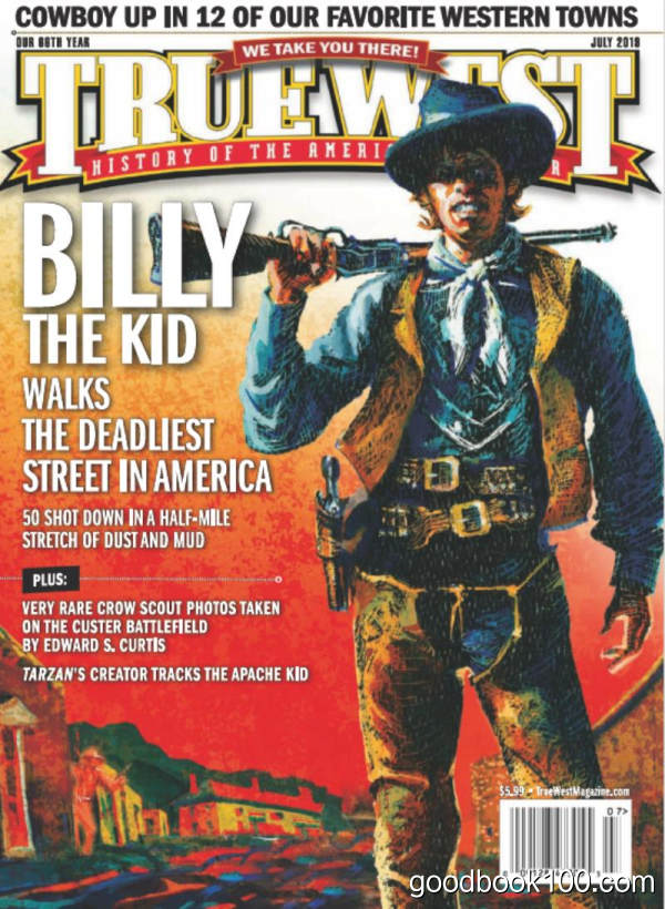 美国西部杂志_True West_2019年合集高清PDF杂志电子版百度盘下载 共12本 739MB