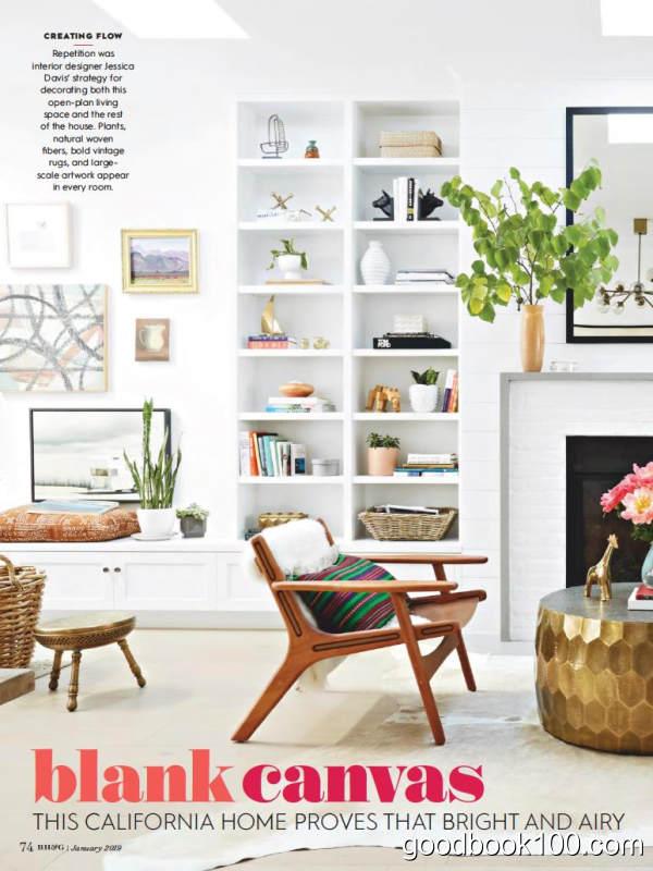 家居设计类杂志_Better Homes and Gardens_2019年合集高清PDF杂志电子版百度盘下载 共12本