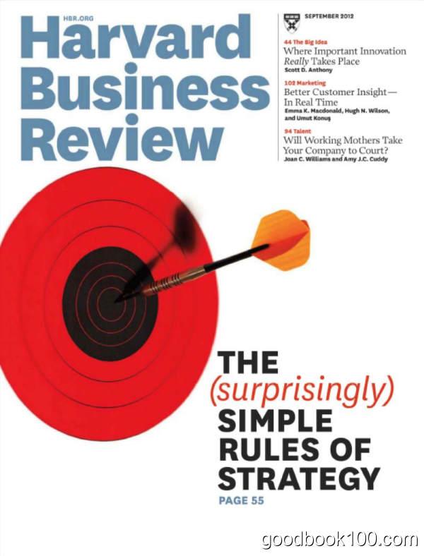 哈佛商业评论英文原版_Harvard Business Review_2012年合集高清PDF杂志电子版百度盘下载 共10本 1.02G