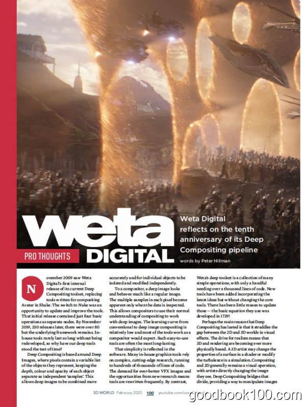 3D视觉杂志_3D World_2020年合集高清PDF杂志电子版百度盘下载 共13本
