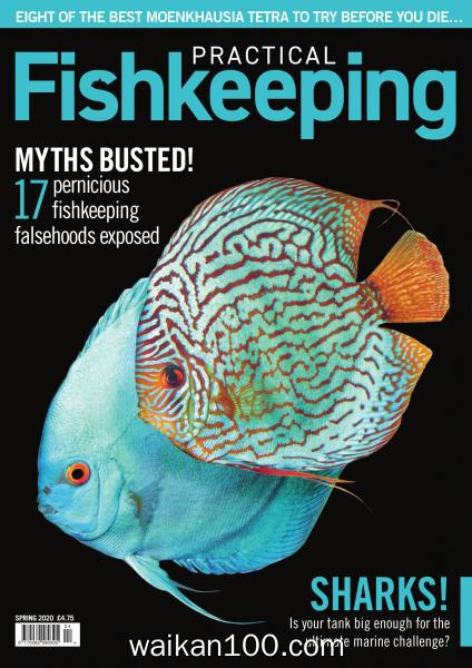 Practical Fishkeeping Spring 2020年 [80MB]