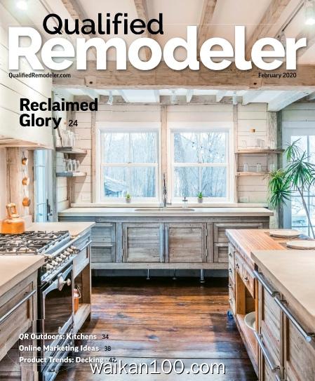 Qualified Remodeler 2月刊 2020年 [11MB]