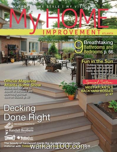 My Home Improvement 3月4月合刊 2020年高清PDF电子杂志外刊期刊下载英文原版
