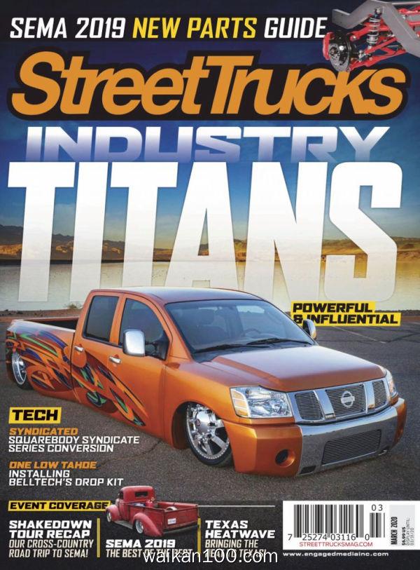 Street Trucks 3月刊 2020年高清PDF电子杂志外刊期刊下载英文原版