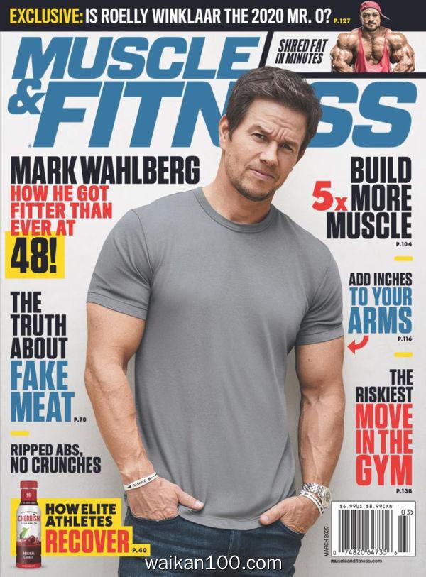 [美国版]Muscle&Fitness 3月刊 2020年 [162MB]