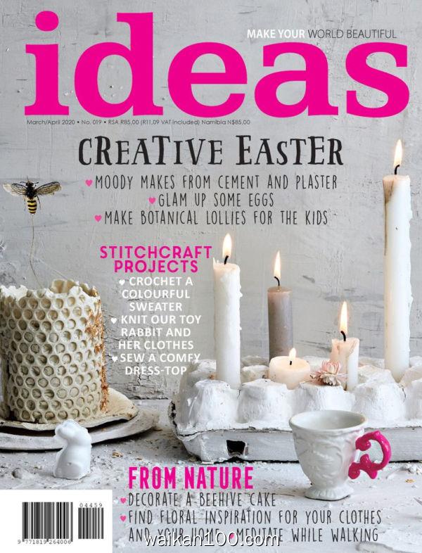 [南非版]Ideas 3月4月合刊 2020年高清PDF电子杂志外刊期刊下载英文原版