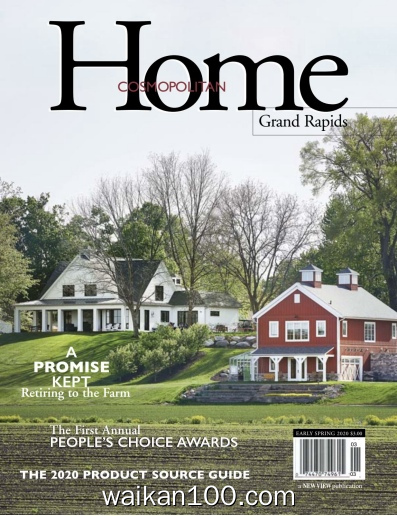 Cosmopolitan Home Early Spring 2020年高清PDF电子杂志外刊期刊下载英文原版