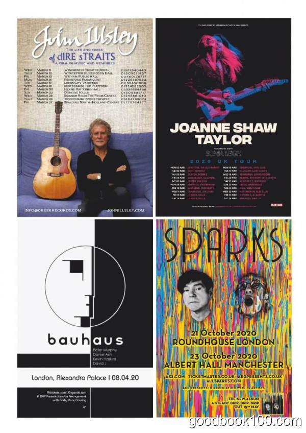 音乐类杂志_Mojo_2020年合集高清PDF杂志电子版百度盘下载 共14本 1.1G
