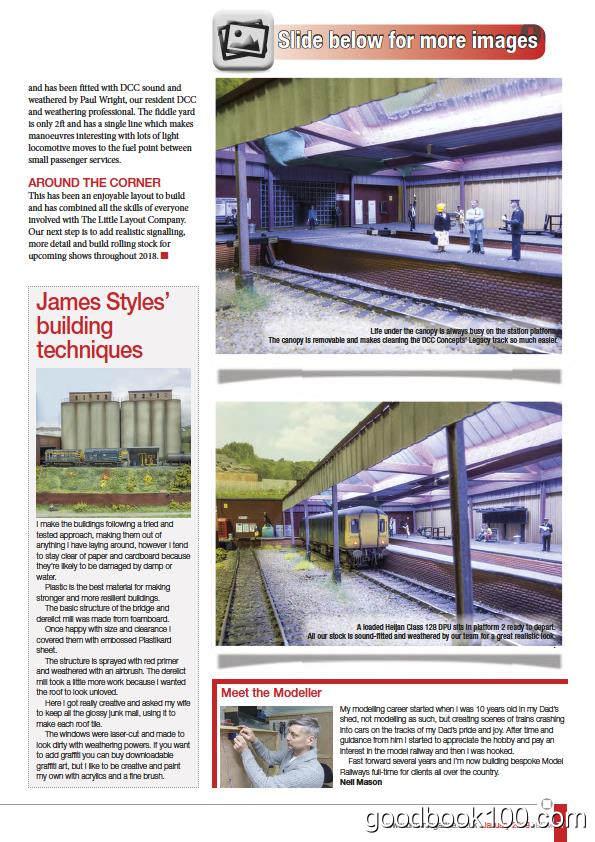 火车模型杂志_British Railway Modelling_2018年合集高清PDF杂志电子版百度盘下载 共13本 851MB