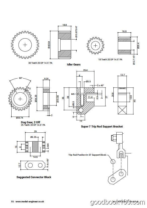 模具模型杂志_Model Engineers Workshop_2018年合集高清PDF杂志电子版百度盘下载 共13本