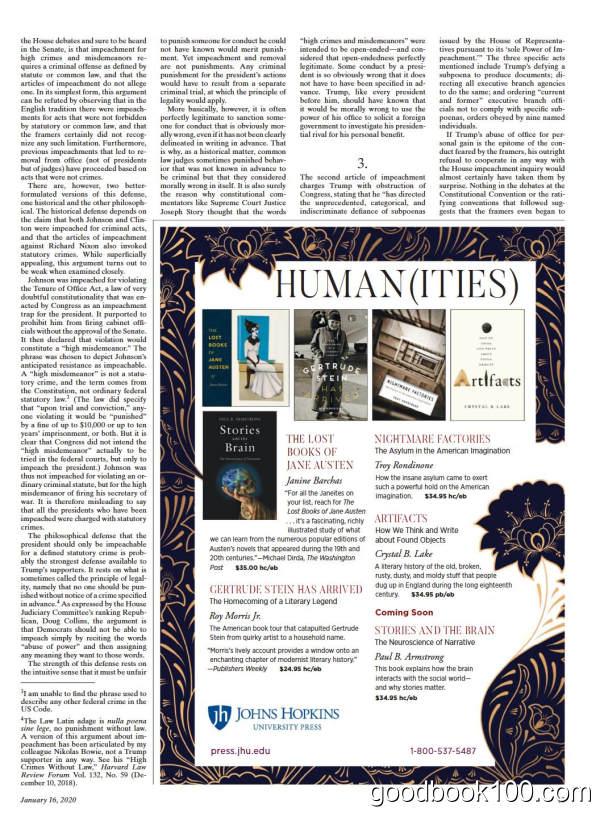 纽约书评_The New York Review of Books_2020年合集高清PDF杂志电子版百度盘下载 共20本 770MB