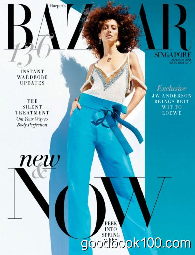 Harper's Bazaar Singapore – January 2015