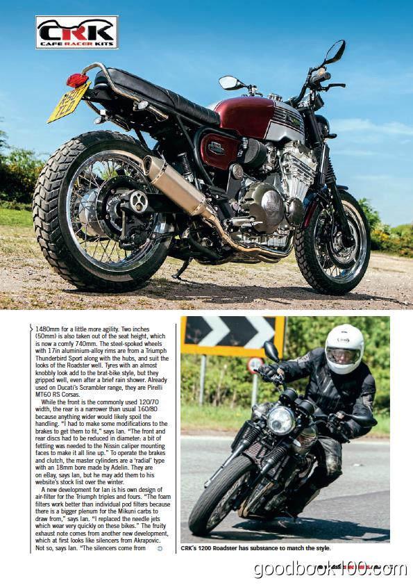 摩托车杂志_Classic Motorcycle Mechanics_2018年合集高清PDF杂志电子版百度盘下载 共12本 545MB