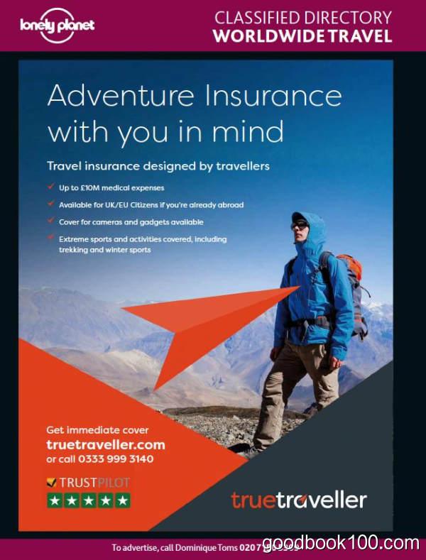 孤独星球旅行者英国版_Lonely Planet Traveller UK_2018年合集高清PDF杂志电子版百度盘下载 共12本 541MB