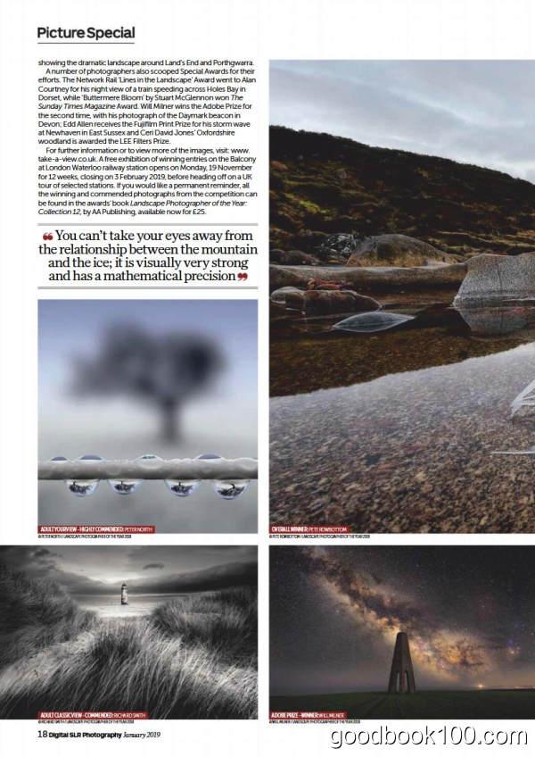 数码摄影杂志_Digital SLR Photography_2019年合集高清PDF杂志电子版百度盘下载 共12本 873MB