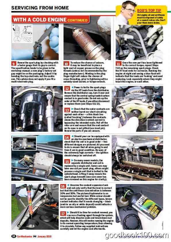 汽车杂志_Car Mechanics_2018年合集高清PDF杂志电子版百度盘下载 共12本