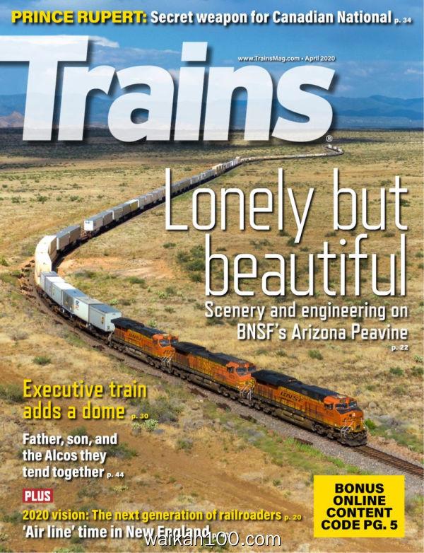 Trains 4月刊 2020年 [77MB]