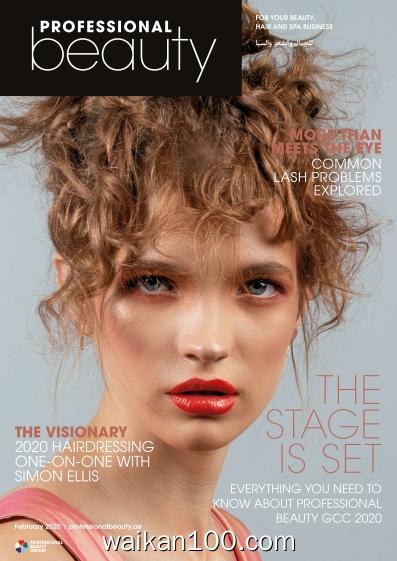 Professional Beauty GCC 2月刊 2020年高清PDF电子杂志外刊期刊下载英文原版