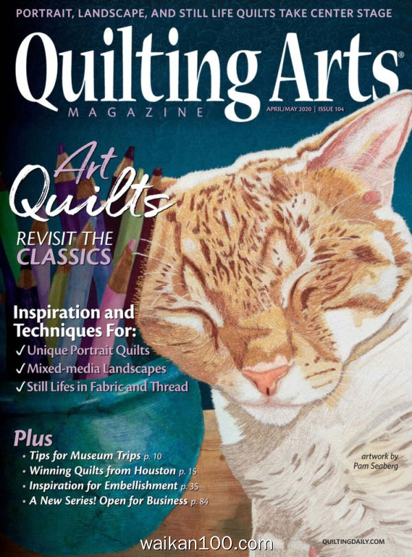 Quilting Arts 4月5月合刊 2020年 [104MB]