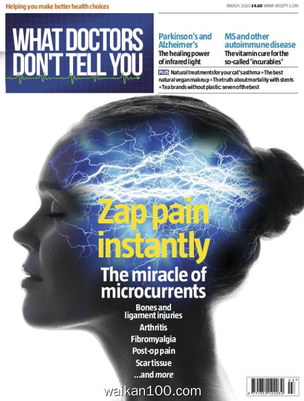 What Doctors Don't Tell You 2月刊 2020年高清PDF电子杂志外刊期刊下载英文原版