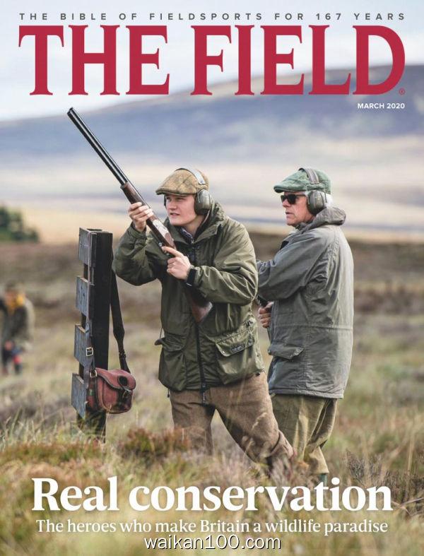 The Field 3月刊 2020年 [64MB]