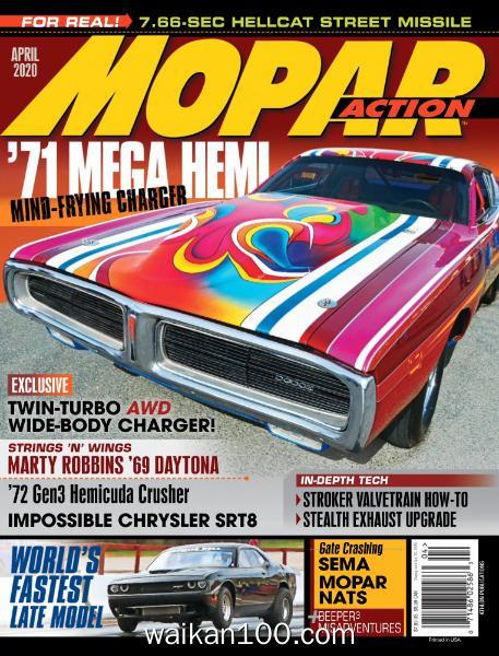 Mopar Action 4月刊 2020年 [62MB]