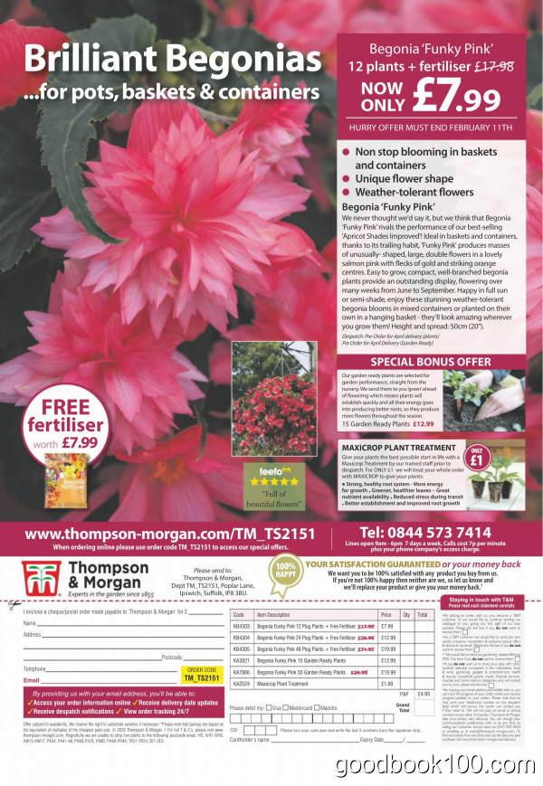 Amateur_Gardening_-_01_February_2020英文原版高清PDF电子杂志下载