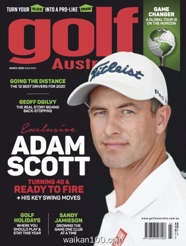 [澳大利亚版]Golf 3月刊 2020年 [60MB]