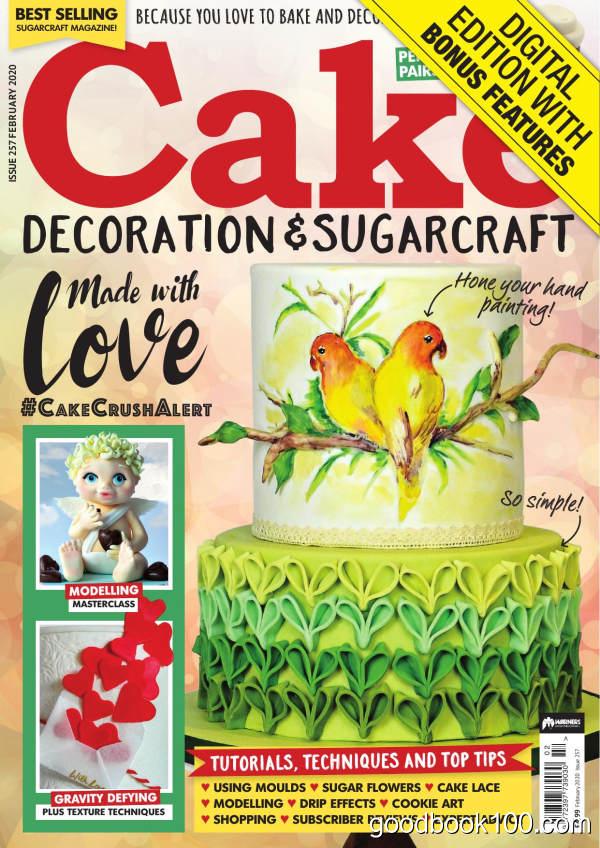 Cake_Decoration_amp_Sugarcraft_-_Issue_257_-_February_2020英文原版高清PDF电子杂志下载
