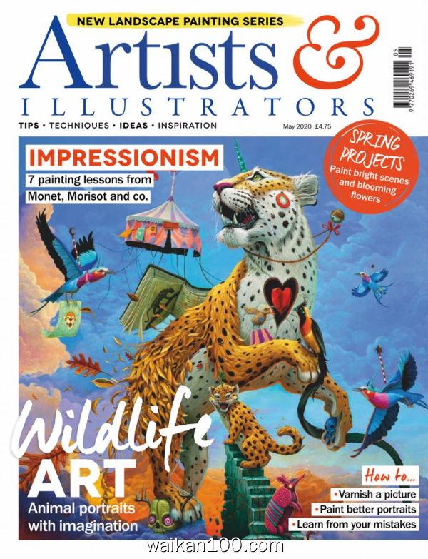 Artists&Illustrators 5月刊 2020年 [50MB]