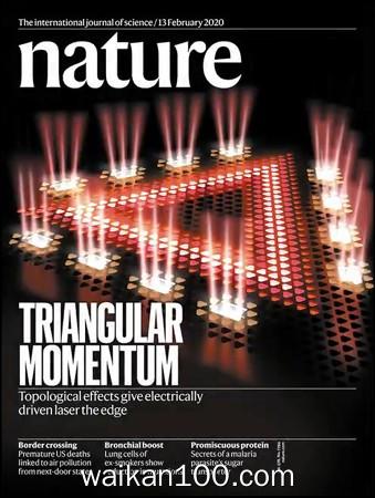 Nature 13 2月刊 2020年 [146MB]