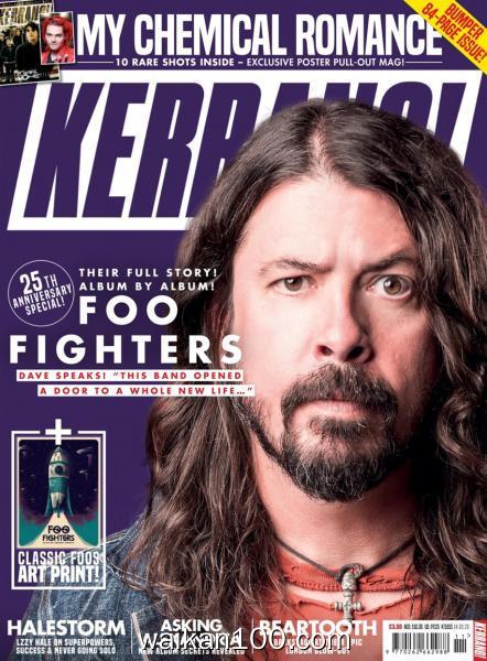 Kerrang! 总期数No.1815 3月刊 14 2020年 [36MB]