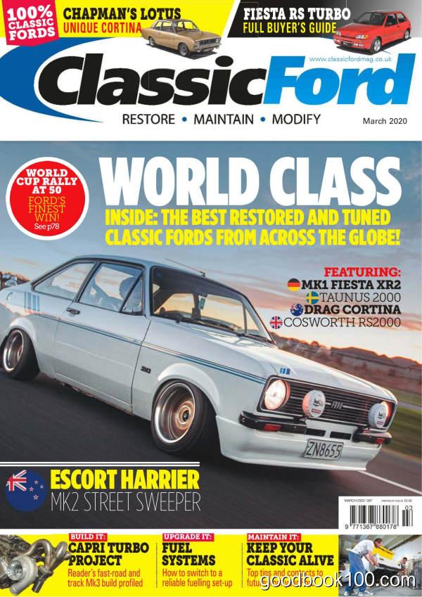 Classic_Ford_-_Issue_287_-_March_2020英文原版高清PDF电子杂志下载