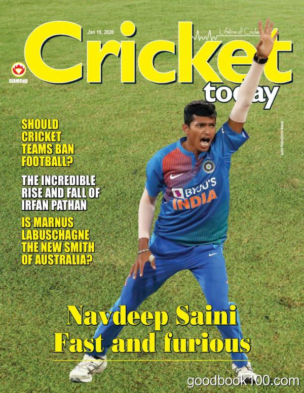 Cricket_Today_-_January_10_2020英文原版高清PDF电子杂志下载