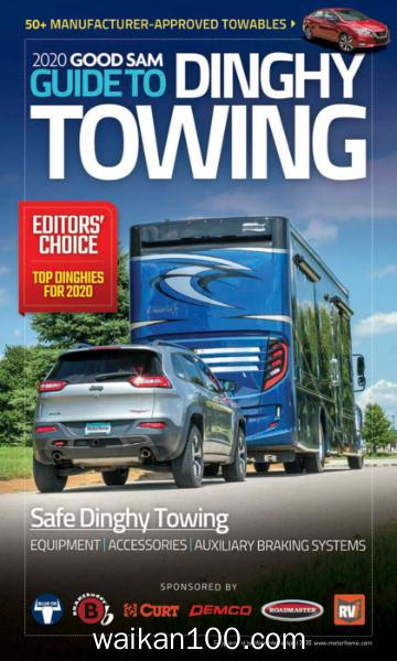 Motor Home 2020年 Guide to Dinghy Towing 4月刊 2020年 [11MB]